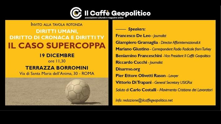 Roma Il Caso Di Supercoppa